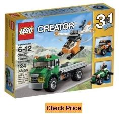 LEGO Creator 3 in 1 Chopper Transporter 31043 Set