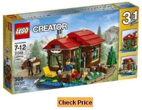 LEGO Creator 3 in 1 Lakeside Lodge 31048 Set