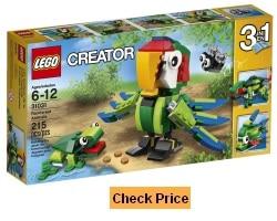 LEGO Creator 3 in 1 Rainforest Animals 31031 Set