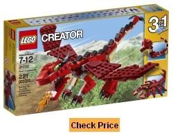 LEGO Creator 3 in 1 Red Creatures 31032 Set