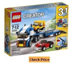 LEGO Creator 3 in 1 Vehicle Transporter 31033 Set