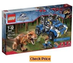 LEGO Jurassic World T Rex Tracker Set
