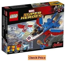 LEGO Marvel Super Heroes Captain America Jet Pursuit 76076 Set