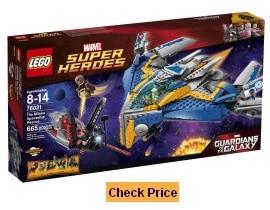 LEGO Superheroes 76021 The Milano Spaceship Rescue Building Set
