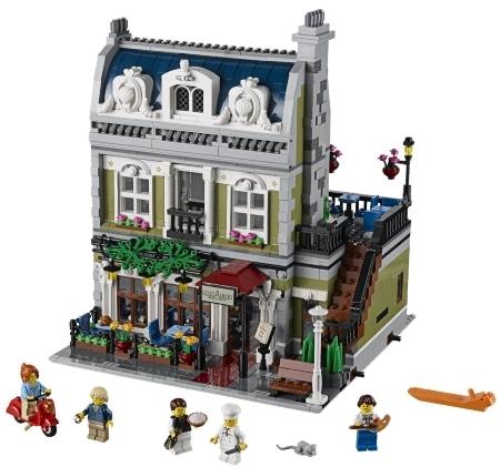 lego creator expert 10243 parisian restaurant set from the. Black Bedroom Furniture Sets. Home Design Ideas