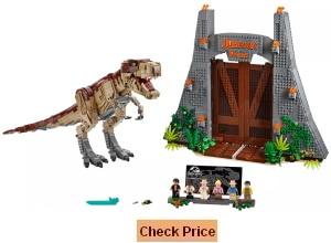 The Jurassic Park: T. Rex Rampage 75936 Lego