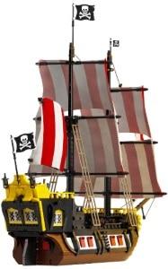 Pirates of Barracuda Bay lego 21322