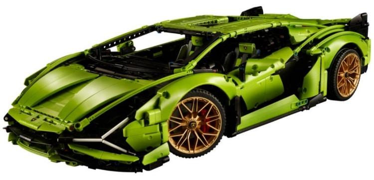 The Lamborghini Sián FKP 37 Technic Lego Set