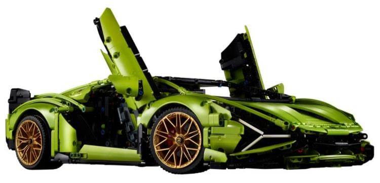 The Lamborghini Sián FKP 37 Technic Lego