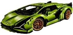 The Lamborghini Sián FKP 37 Technic
