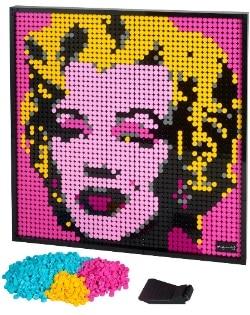 ART Andy Warhol's Marilyn Monroe LEGO Set 31197