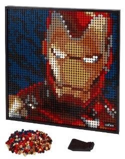 ART Marvel Studios Iron Man LEGO Set 31199