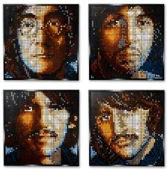 ART The Beatles LEGO Set 31198