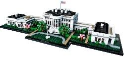Architecture The White House LEGO set