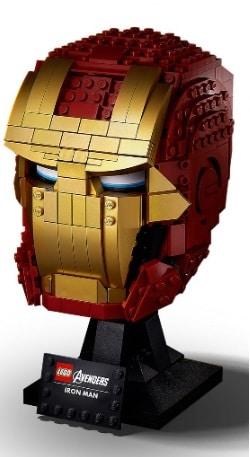 Marvel Iron Man Helmet LEGO Set 76165