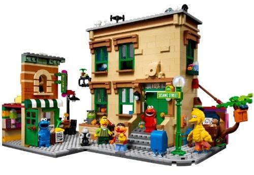IDEAS 123 Seasame Street Lego Set 21324