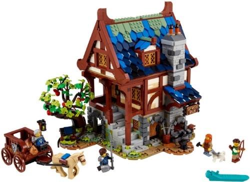 Ideas Medieval Blacksmith Lego Set 21325