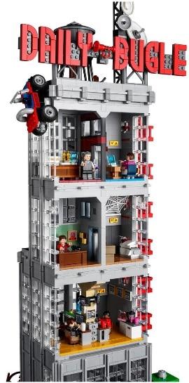 Spiderman Daily Bugle Lego Set 76187