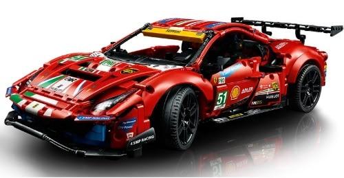 Lego Technic Ferrari 488 GTE AF Corse 51 Set 42125