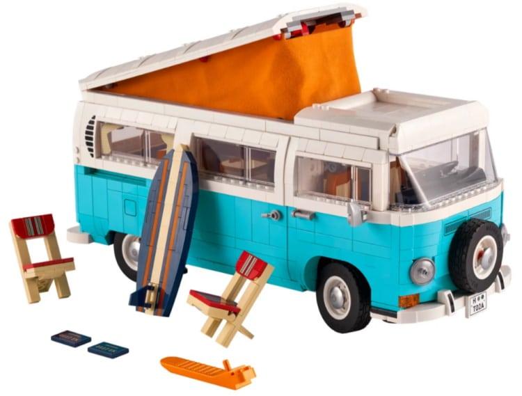 Creator Volkswagen T2 Camper Van Lego Set 10279
